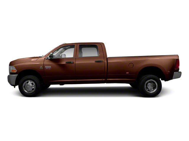 Dark Brown 2011 Ram Truck 3500 Pictures 3500 Crew Cab SLT 2WD photos side view