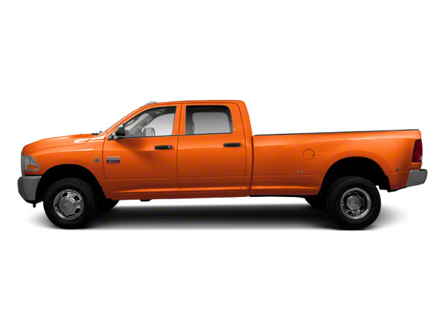 Omaha Orange 2011 Ram Truck 3500 Pictures 3500 Crew Cab SLT 2WD photos side view