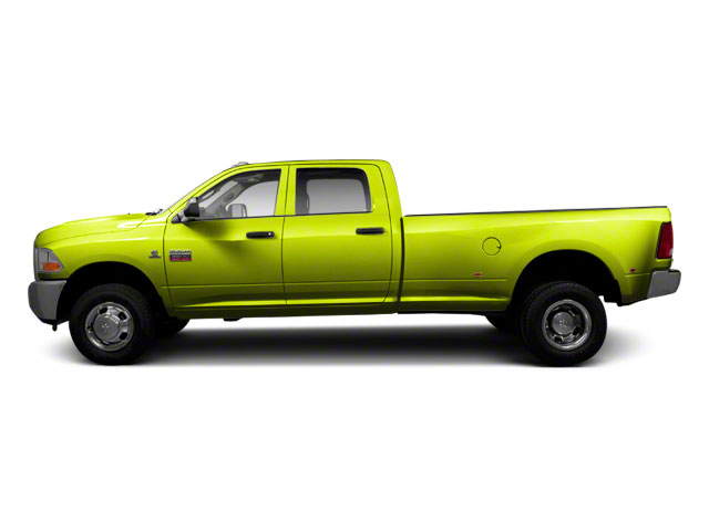 National Fire Safety Lime Yellow 2011 Ram Truck 3500 Pictures 3500 Crew Cab SLT 2WD photos side view