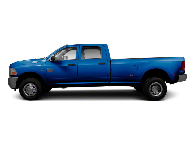Deep Water Blue Pearl 2011 Ram Truck 3500 Pictures 3500 Crew Cab Laramie 4WD photos side view