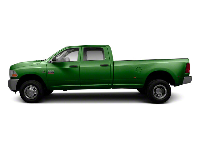 Light Green 2011 Ram Truck 3500 Pictures 3500 Crew Cab SLT 2WD photos side view