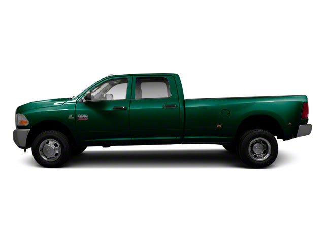 Hunter Green Pearl 2011 Ram Truck 3500 Pictures 3500 Crew Cab Laramie 4WD photos side view