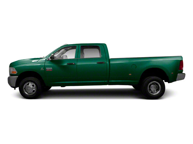 Timberline Green Pearl 2011 Ram Truck 3500 Pictures 3500 Crew Cab SLT 2WD photos side view
