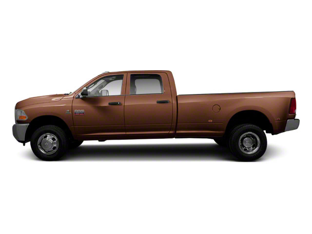 Saddle Brown Pearl 2011 Ram Truck 3500 Pictures 3500 Crew Cab Laramie 4WD photos side view