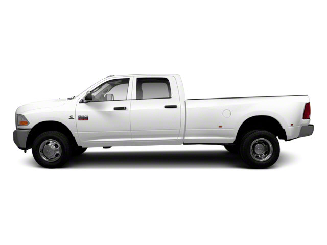 Bright White 2011 Ram Truck 3500 Pictures 3500 Crew Cab Laramie 4WD photos side view