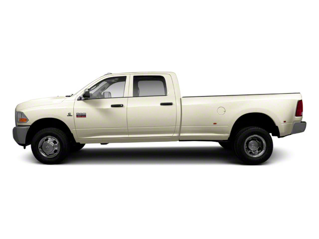 White Gold 2011 Ram Truck 3500 Pictures 3500 Crew Cab Laramie 4WD photos side view