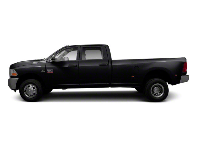 Brilliant Black Crystal Pearl 2011 Ram Truck 3500 Pictures 3500 Crew Cab Laramie 4WD photos side view