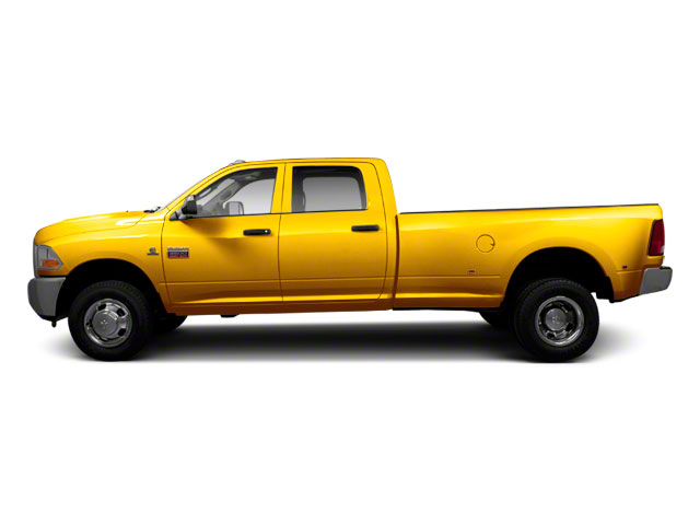 Detonator Yellow 2011 Ram Truck 3500 Pictures 3500 Crew Cab SLT 2WD photos side view