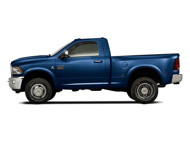 Deep Water Blue Pearl 2011 Ram Truck 3500 Pictures 3500 Regular Cab ST 2WD photos side view