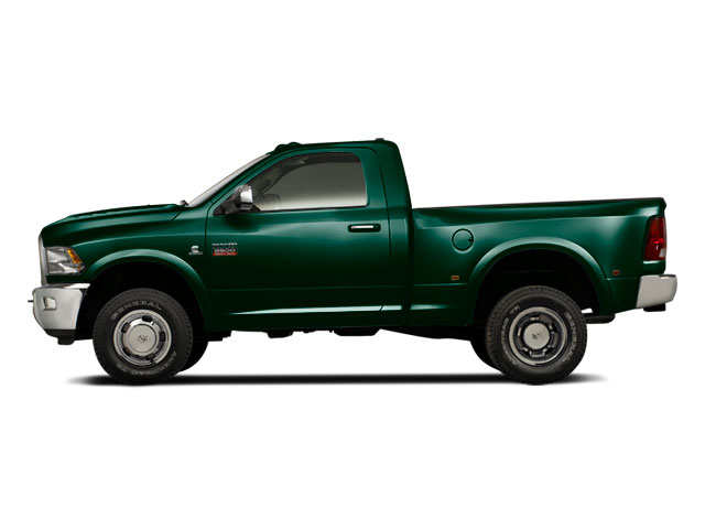 Hunter Green Pearl 2011 Ram Truck 3500 Pictures 3500 Regular Cab ST 2WD photos side view