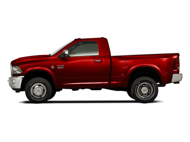 Flame Red 2011 Ram Truck 3500 Pictures 3500 Regular Cab ST 2WD photos side view