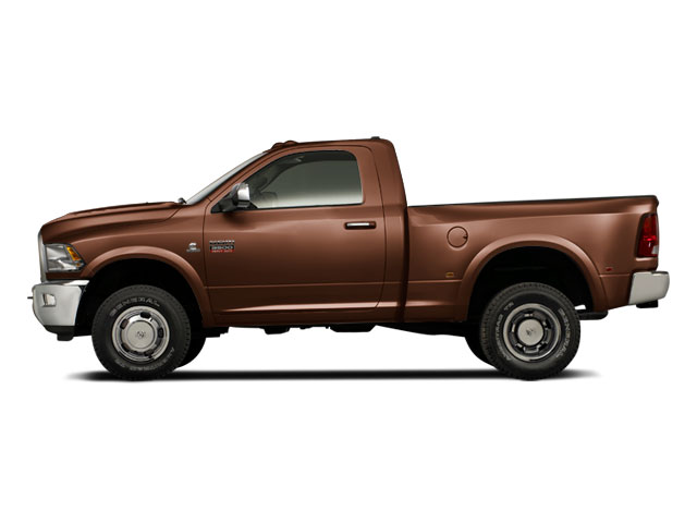 Saddle Brown Pearl 2011 Ram Truck 3500 Pictures 3500 Regular Cab ST 2WD photos side view