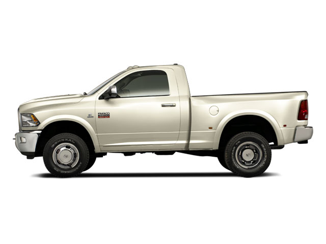 White Gold 2011 Ram Truck 3500 Pictures 3500 Regular Cab ST 2WD photos side view