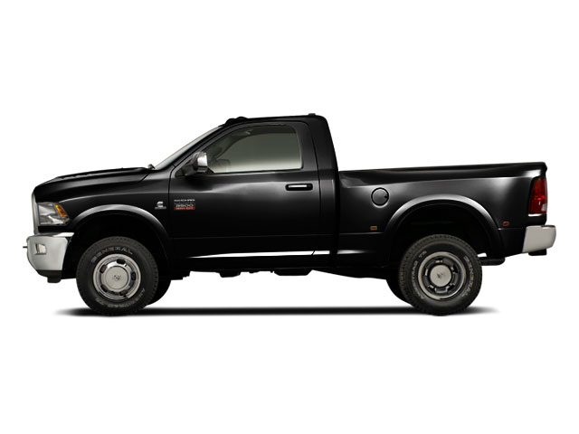 Brilliant Black Crystal Pearl 2011 Ram Truck 3500 Pictures 3500 Regular Cab ST 2WD photos side view