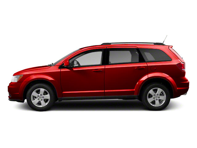 Deep Cherry Red Crystal Pearl 2011 Dodge Journey Pictures Journey Utility 4D Mainstreet AWD photos side view