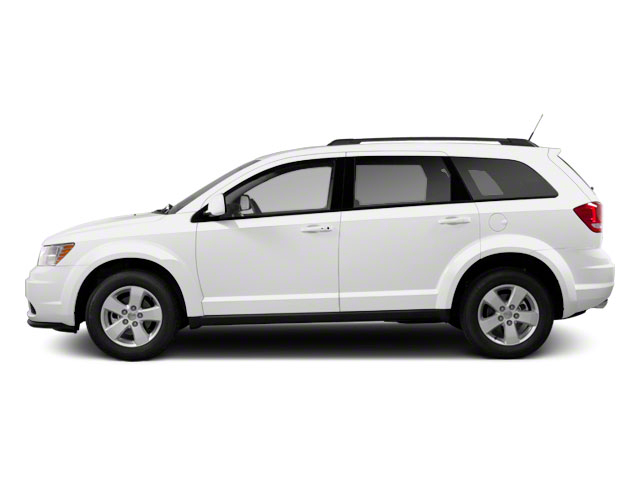 White 2011 Dodge Journey Pictures Journey Utility 4D Crew 2WD photos side view