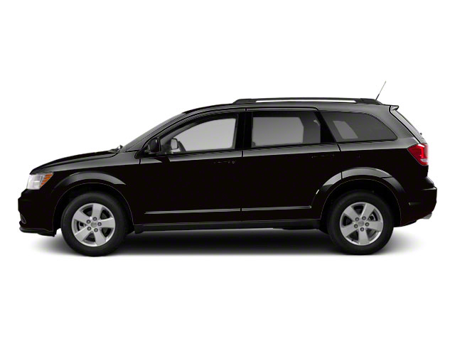 Brilliant Black Crystal Pearl 2011 Dodge Journey Pictures Journey Utility 4D Crew 2WD photos side view