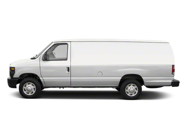 Oxford White 2011 Ford Econoline Wagon Pictures Econoline Wagon Super Duty Extended Wagon XLT photos side view