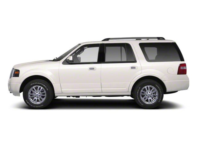White Platinum Metallic Tri-Coat 2011 Ford Expedition Pictures Expedition Utility 4D King Ranch 2WD photos side view