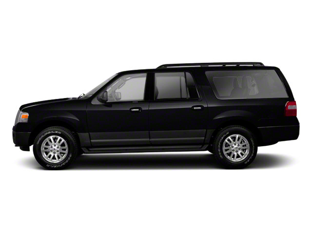 Tuxedo Black Metallic 2011 Ford Expedition EL Pictures Expedition EL Utility 4D XL 4WD photos side view