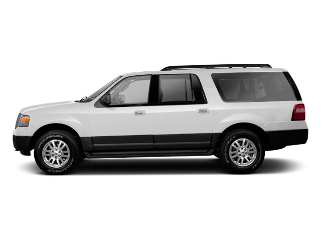 Oxford White 2011 Ford Expedition EL Pictures Expedition EL Utility 4D XL 4WD photos side view
