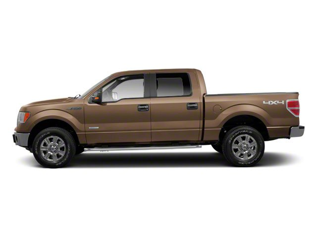 Pale Adobe Metallic 2011 Ford F-150 Pictures F-150 SuperCrew XLT 2WD photos side view