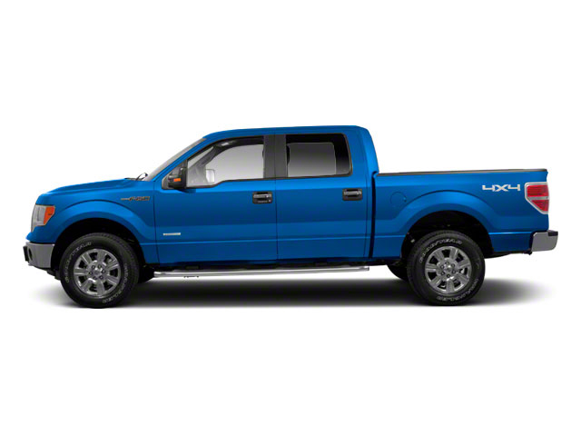 Blue Flame Metallic 2011 Ford F-150 Pictures F-150 SuperCrew XLT 2WD photos side view