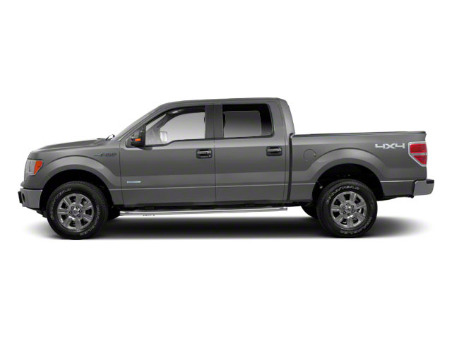 Ingot Silver Metallic 2011 Ford F-150 Pictures F-150 SuperCrew XLT 2WD photos side view