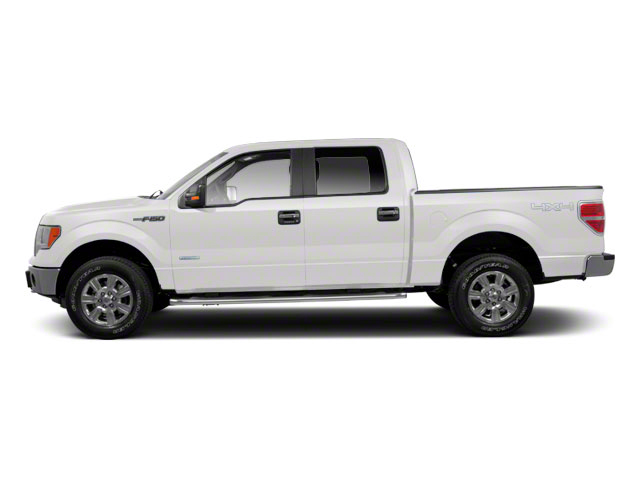 Oxford White 2011 Ford F-150 Pictures F-150 SuperCrew King Ranch 2WD photos side view