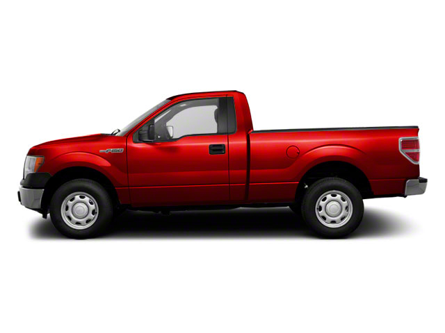 Race Red 2011 Ford F-150 Pictures F-150 Regular Cab XLT 2WD photos side view