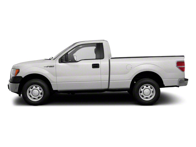 Oxford White 2011 Ford F-150 Pictures F-150 Regular Cab XLT 2WD photos side view