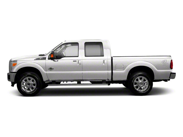 Oxford White 2011 Ford Super Duty F-250 SRW Pictures Super Duty F-250 SRW Crew Cab XLT 2WD photos side view