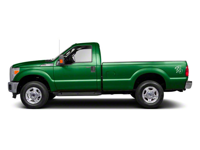 Forest Green Metallic 2011 Ford Super Duty F-250 SRW Pictures Super Duty F-250 SRW Regular Cab XL 4WD photos side view