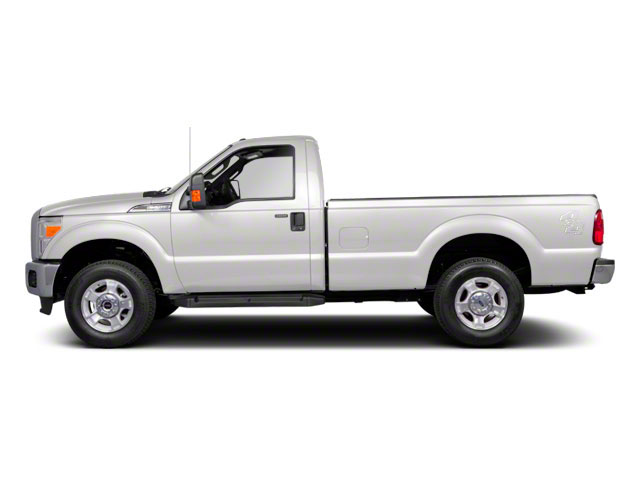 Oxford White 2011 Ford Super Duty F-250 SRW Pictures Super Duty F-250 SRW Regular Cab XL 4WD photos side view