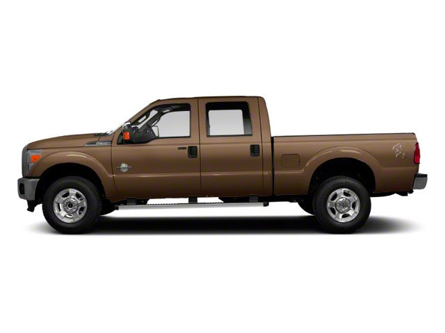 Pale Adobe Metallic 2011 Ford Super Duty F-350 DRW Pictures Super Duty F-350 DRW Crew Cab XL 2WD photos side view