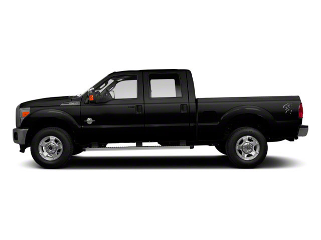 Black 2011 Ford Super Duty F-350 DRW Pictures Super Duty F-350 DRW Crew Cab XL 2WD photos side view