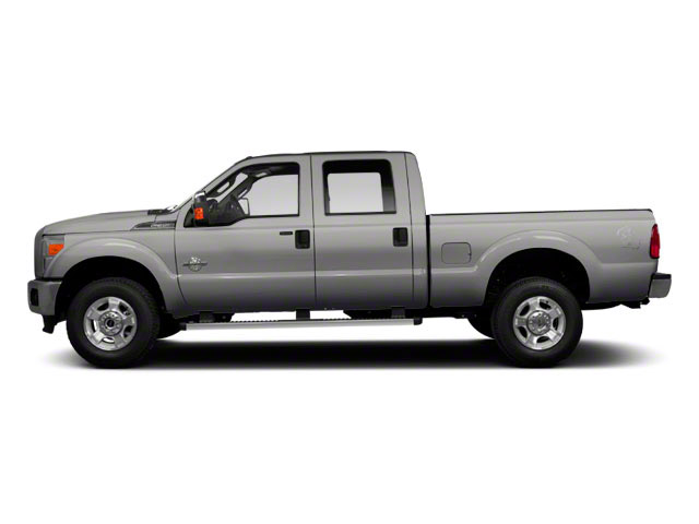 Ingot Silver Metallic 2011 Ford Super Duty F-350 DRW Pictures Super Duty F-350 DRW Crew Cab XL 2WD photos side view