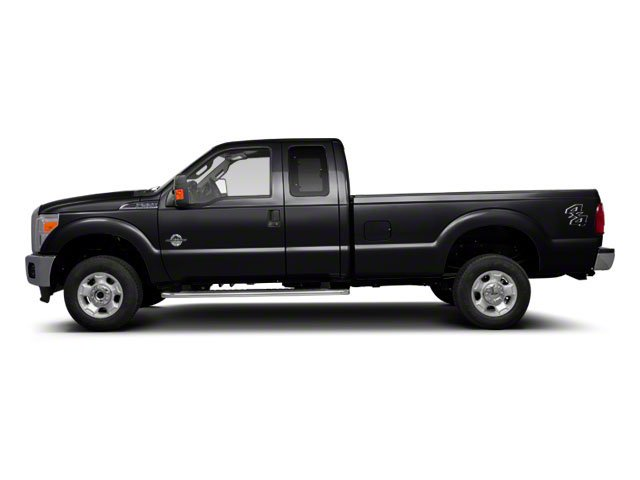 Black 2011 Ford Super Duty F-350 DRW Pictures Super Duty F-350 DRW Supercab XLT 2WD photos side view