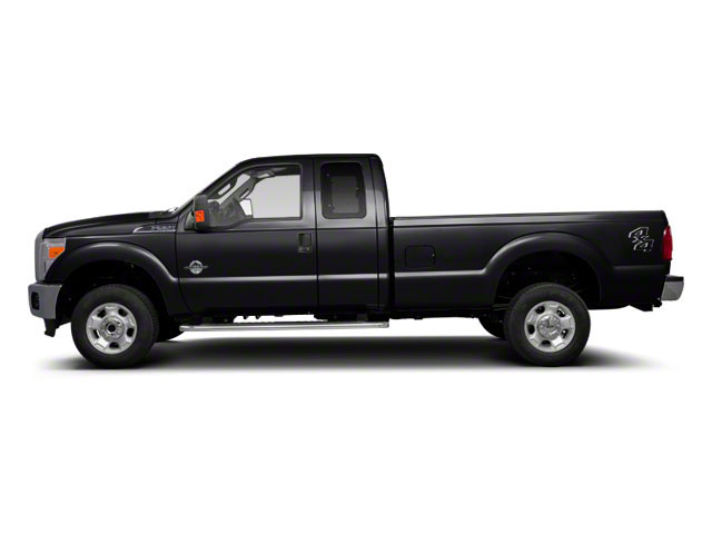 Tuxedo Black Metallic 2011 Ford Super Duty F-350 DRW Pictures Super Duty F-350 DRW Supercab Lariat 4WD photos side view