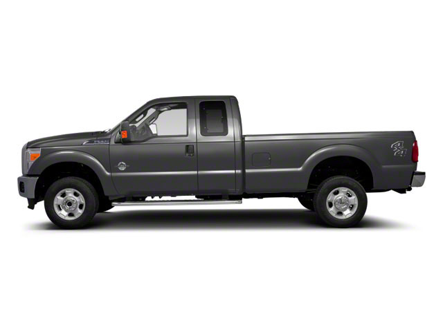 Sterling Gray Metallic 2011 Ford Super Duty F-350 DRW Pictures Super Duty F-350 DRW Supercab XLT 2WD photos side view