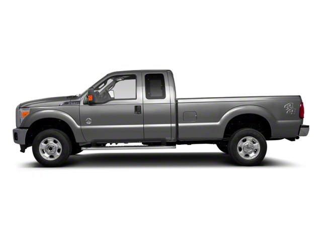 Ingot Silver Metallic 2011 Ford Super Duty F-350 DRW Pictures Super Duty F-350 DRW Supercab XLT 2WD photos side view