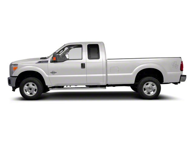 Oxford White 2011 Ford Super Duty F-350 DRW Pictures Super Duty F-350 DRW Supercab Lariat 4WD photos side view