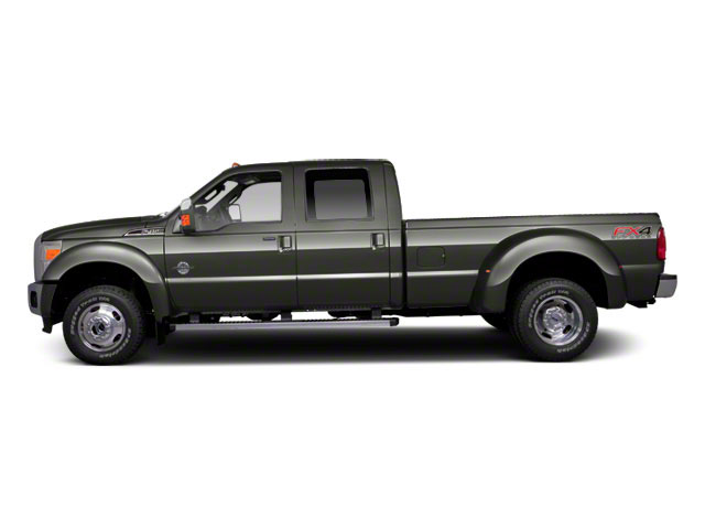 Sterling Gray Metallic 2011 Ford Super Duty F-450 DRW Pictures Super Duty F-450 DRW Crew Cab Lariat 4WD T-Diesel photos side view