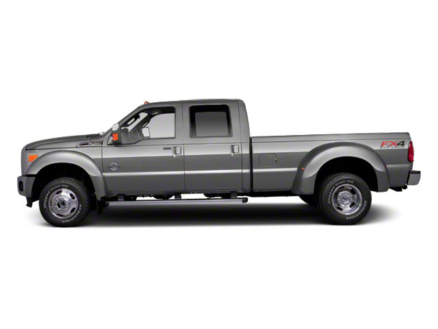 Ingot Silver Metallic 2011 Ford Super Duty F-450 DRW Pictures Super Duty F-450 DRW Crew Cab Lariat 4WD T-Diesel photos side view