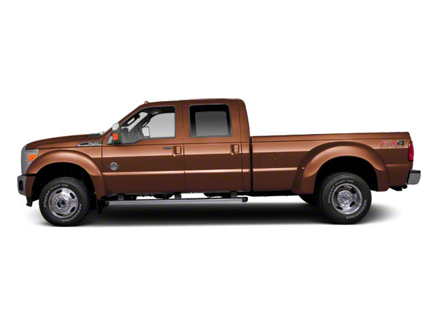 Golden Bronze Metallic 2011 Ford Super Duty F-450 DRW Pictures Super Duty F-450 DRW Crew Cab Lariat 4WD T-Diesel photos side view