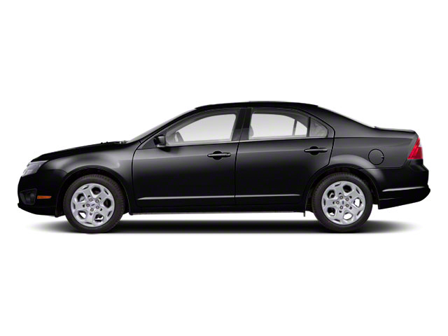 Tuxedo Black Metallic 2011 Ford Fusion Pictures Fusion Sedan 4D Hybrid photos side view