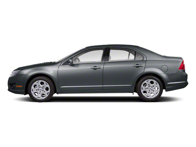 Sterling Gray Metallic 2011 Ford Fusion Pictures Fusion Sedan 4D Hybrid photos side view