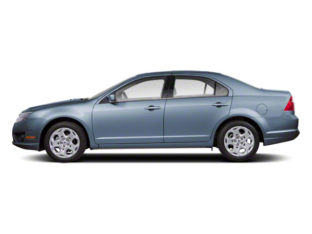 Steel Blue Metallic 2011 Ford Fusion Pictures Fusion Sedan 4D Hybrid photos side view