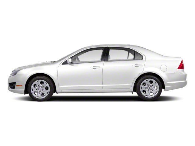 White Suede 2011 Ford Fusion Pictures Fusion Sedan 4D Hybrid photos side view