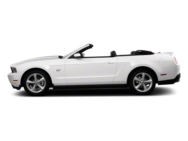 Performance White 2011 Ford Mustang Pictures Mustang Convertible 2D GT photos side view